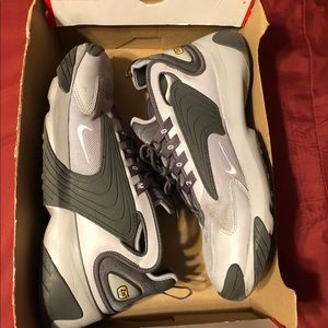 Mens All Grey Nike Zoom 2K Shoes